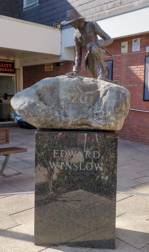Edward Winslow Statue