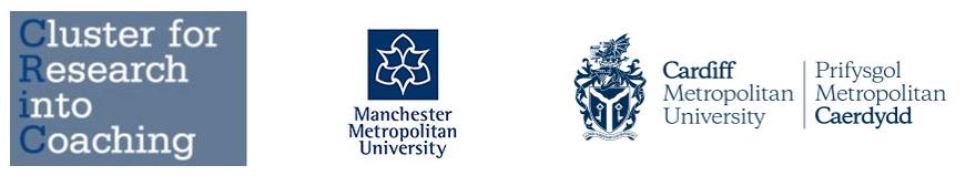 Several Logos in a line. These include: Cluster Research int Teaching, Manchester Metropolitan University and Cardiff Metropolitan University