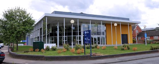 The University of Worcester Riverside exterior