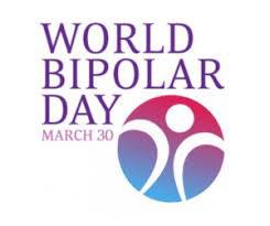 The logo for World Bipolar day 2020