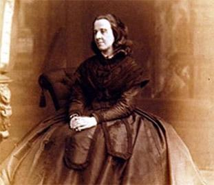 Bessie Rayner Parkes - sepia image